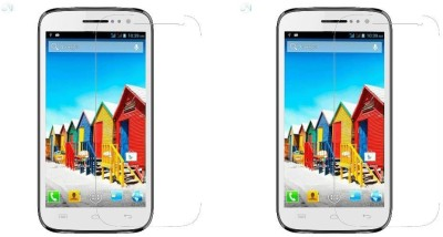 MudShi Impossible Screen Guard for Micromax Canvas HD A116(Pack of 2)
