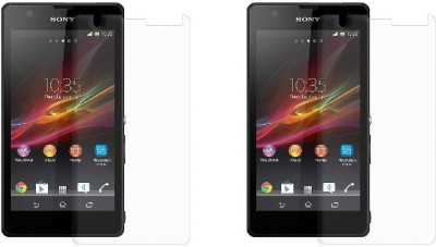 MudShi Impossible Screen Guard for Sony Xperia ZR(Pack of 2)