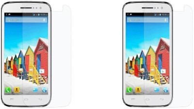 MudShi Screen Guard for Micromax Canvas 2 Plus(Pack of 2)