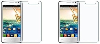 MudShi Impossible Screen Guard for Micromax Canvas Juice A177(Pack of 2)