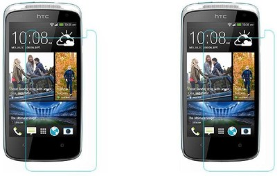 MudShi Screen Guard for Htc Desire 500(Pack of 2)