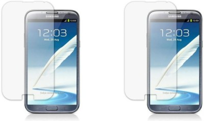 MudShi Tempered Glass Guard for Samsung Galaxy Note 2(Pack of 2)