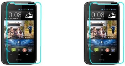 MudShi Impossible Screen Guard for Htc Desire 310(Pack of 2)
