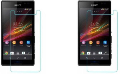 MudShi Impossible Screen Guard for Sony Xperia C(Pack of 2)