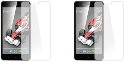 MudShi Impossible Screen Guard for XOLO Q1200(Pack of 2)