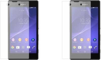 MudShi Tempered Glass Guard for Sony Xperia E3(Pack of 2)