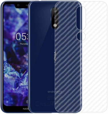 ELEF Back Screen Guard for Nokia 5.1 Plus (Anti-Fingerprint Matte Finish)(Pack of 1)