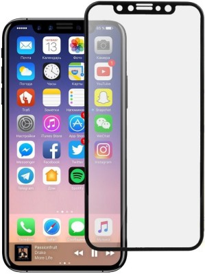 DOB Edge To Edge Tempered Glass for Apple iPhone X(Pack of 1)