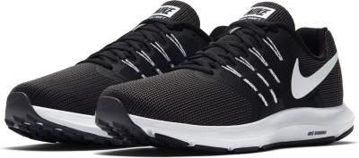 Nike RUN SWIFT Running Shoes For Men(Black, Grey) 1
