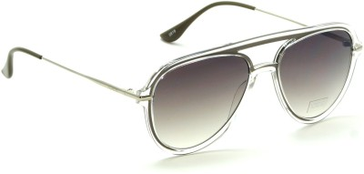 IDEE Aviator Sunglasses(Brown)