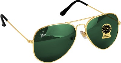 PIRASO Aviator Sunglasses(Green)