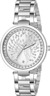 Sakhicretion Silver analog watch  for Women   Girl Analog Watch   For Women Sakhicretion Wrist Watches