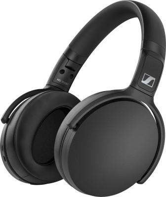 Sennheiser HD 350BT Bluetooth Headset(Black, On the Ear)