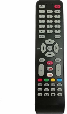 LipiWorld LED LCD Smart TV ith Function YouTube Netflix HITACHI Remote Controller(Black)