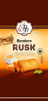 Burnborn Premium Elaichi Rusk Elaichi flavored Elaichi Rusk(350 g)