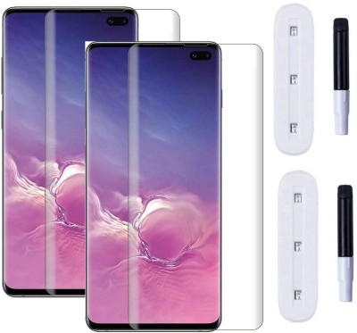 Temperia Edge To Edge Tempered Glass for Samsung Galaxy S10 Plus, Samsung Galaxy S10+(Pack of 2)