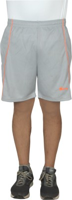 sampy Solid Men Grey Gym Shorts