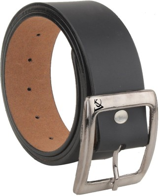 Variety & Capture Men Evening, Party, Formal, Casual Black Artificial Leather Belt