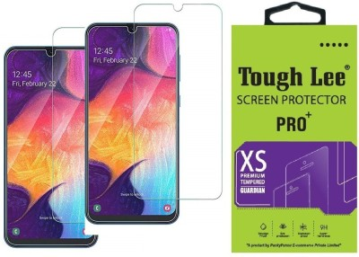 Tough Lee Tempered Glass Guard for Samsung Galaxy M31, Samsung Galaxy M30s, Samsung Galaxy M30, Samsung Galaxy A30, Samsung Galaxy A30s, Samsung Galaxy A50, Samsung Galaxy A50s, Samsung Galaxy A20, Samsung Galaxy M21, Samsung Galaxy F41(Pack of 2)