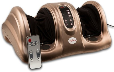 Lifelong LLM72 Powerful Electric Foot Massager for Pain Relief with kneading and rolling Massager(Brown)