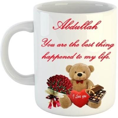 Midas Craft Abdullah Romantic Love Liners 02 Ceramic Mug(330 ml)