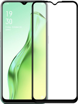 Hupshy Edge To Edge Tempered Glass for Oppo A31(Pack of 1)