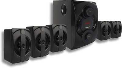 KRISONS Genius-200|App Enabled Smart Home Theater 5.1|Bluetooth|AUX|FM|RECORDING|USB 70 W Bluetooth Home Theatre(Black, 5.1 Channel)