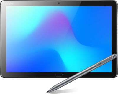 Huawei MediaPad M5 Lite with stylus 4 GB RAM 64 GB ROM 10.1 inch with Wi-Fi+4G Tablet (Space Grey)