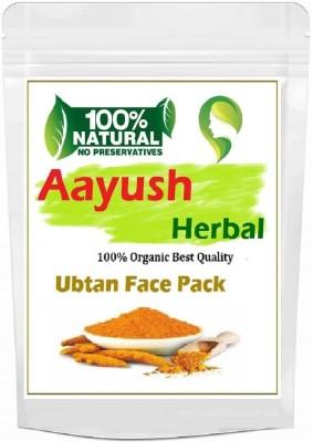 Aayush herbal Ubtan Powder 100% NATURAL for Skin Whitening and Glowing (100 gm)(100 g)