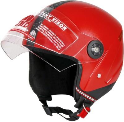 JMD Grand Wonder Motorbike Helmet(Red)