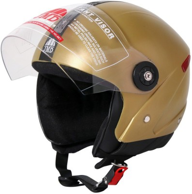 JMD Grand Wonder Motorbike Helmet(GOLDEN)