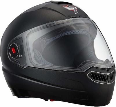 Steelbird SBA-1 Classic 7Wings Full Face Helmet Motorbike Helmet(Black With Clear Visor)