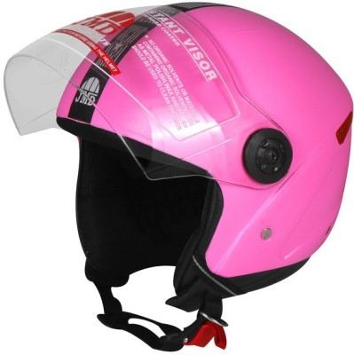 JMD Grand Wonder Motorbike Helmet(Pink)