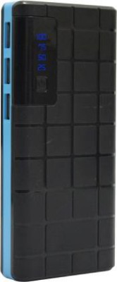 AMYTEL 10000 mAh Power Bank (Quick Charge 2.0, Power Delivery 2.0, 11 W)(Black, Blue, Lithium-ion)