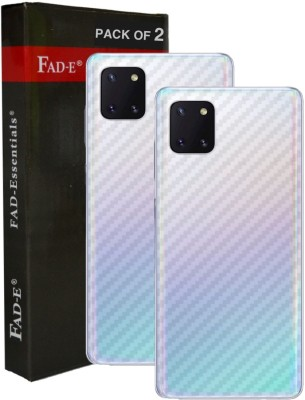 FAD-E Back Screen Guard for Samsung Galaxy Note 10 Lite(Pack of 2)