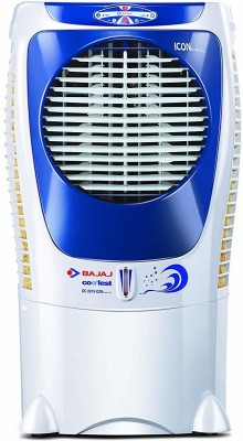Bajaj 43 L Desert Air Cooler(White, COOLEST DC 2015 ICON DIGITAL)