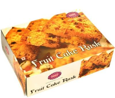 karachi bakery Fruit Cake Rusk Sweet flavored Cake Rusk(400 g)
