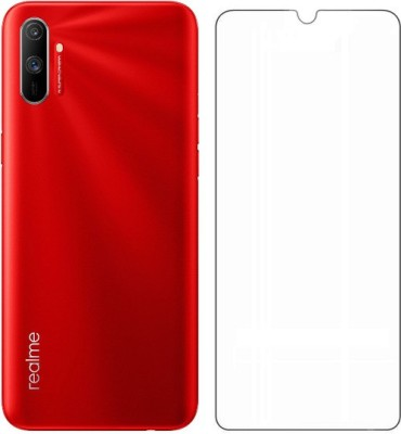 Cell-loid Tempered Glass Guard for Realme C3(Pack of 1)