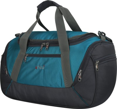 alfisha weekender travel bag waterproof Sky Blue Grey 7009 Small Travel Bag   17 Blue alfisha Small Travel Bags