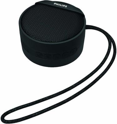Philips Wireless Portable Speaker (BT3901B/94, Black)