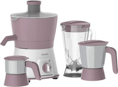 Philips Avenger HL7581 600 Juicer Mixer Grinder(Pink, 3 Jars)