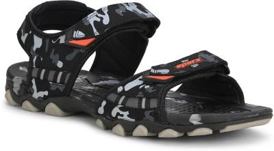 Sparx SS-467 Men Black Sports Sandals