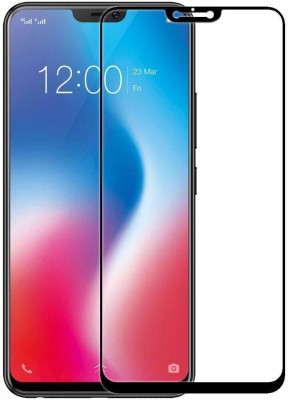 SHINESONIC ELECTRONICS Edge To Edge Tempered Glass for Tempered Glass Vivo V9 Screen Protector Maximum Protection 6D Touch Ultra Slim Notch Cutout Case Friendly 9H Hardness for Vivo V9(Pack of 1)