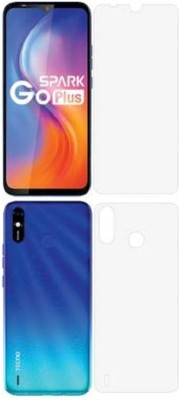 Anaya Front and Back Screen Guard for Tecno Spark Go(Pack of 3)