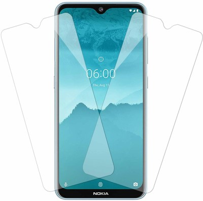LIKEDESIGN Tempered Glass Guard for NOKIA 6.2(Pack of 2)