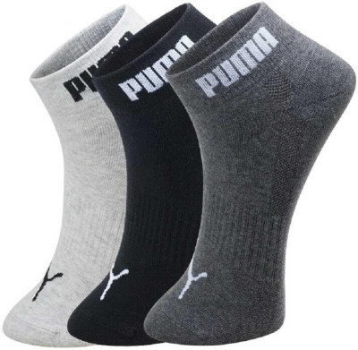 Puma Men & Women Printed Ankle Length(Pack of 3)