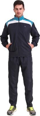 Delta Sports Striped Men Track Suit