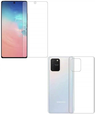 Vatsin Front and Back Screen Guard for Samsung Galaxy Note 10 Lite(Pack of 2)