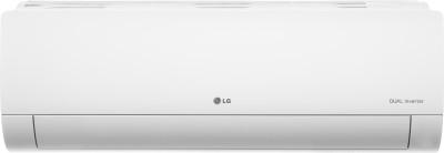LG 1 Ton 5 Star Split Dual Inverter AC - White(LS-Q12YNZA, Copper Condenser)