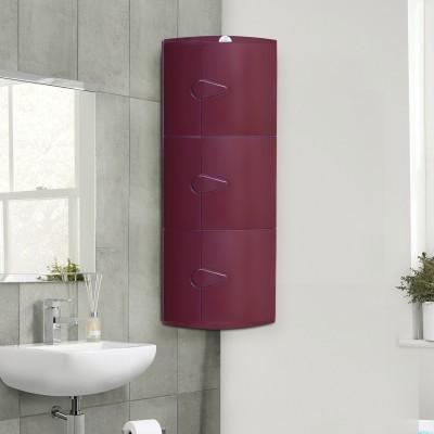 Nilkamal Blooms Plastic Wall Mount Cabinet(Finish Color - Maroon)